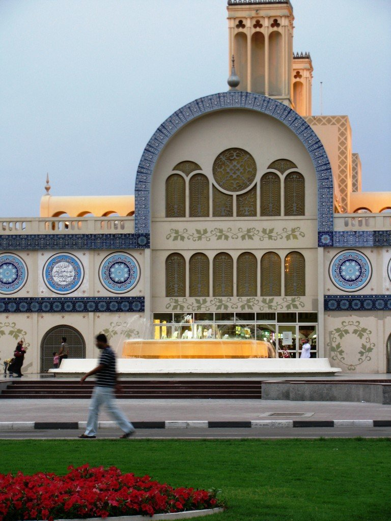 About once a month I like to go to Sharjah to remind myself that I ...