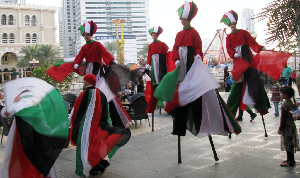 ... Zeal » Red, White, and … Black & Green ~ It's UAE National Day