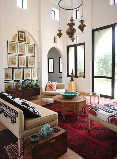 Arabic style bedroom design house and home living room designs - Moroccan living room design ...