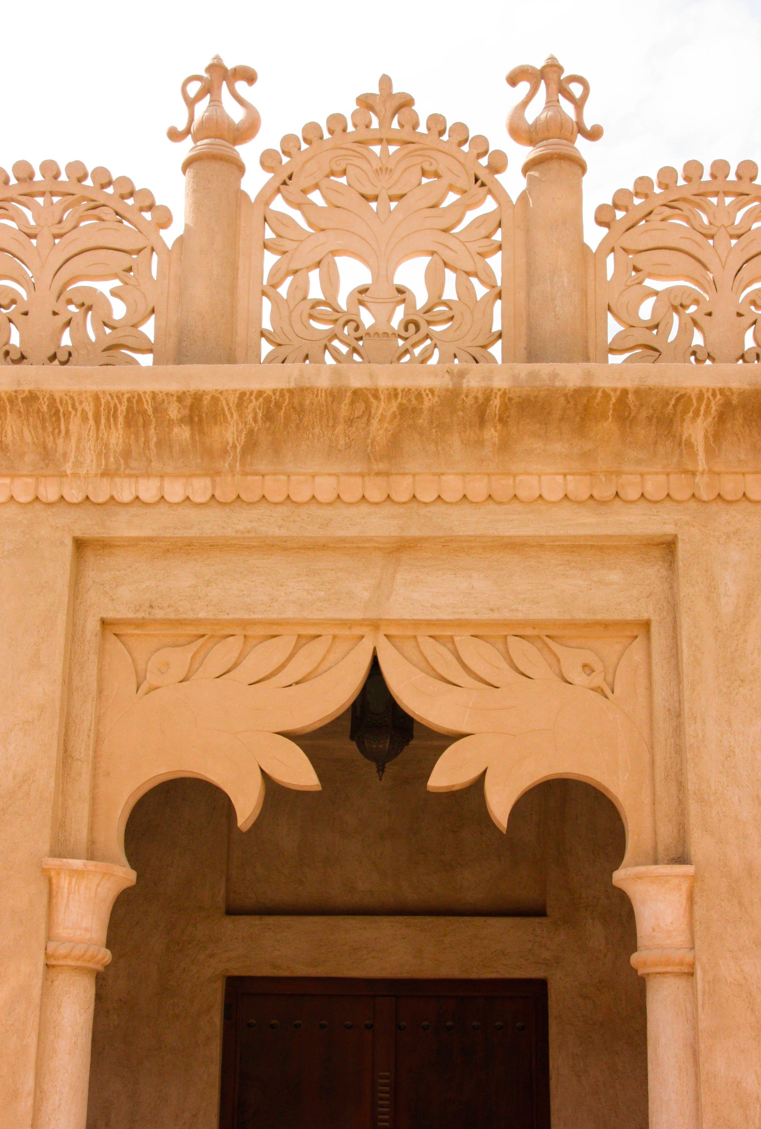Bastakia-archway-details