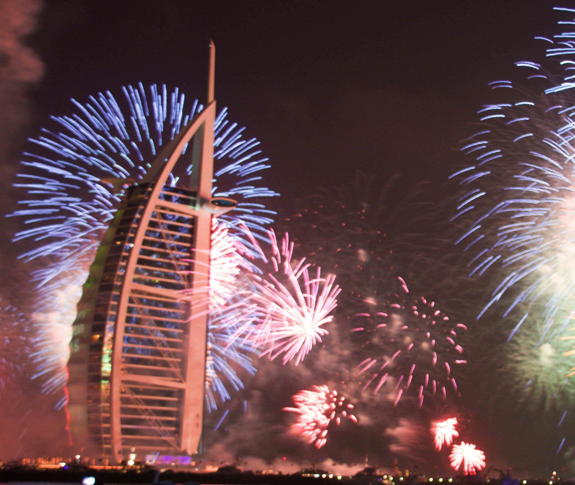 happy new year from dubai january 1st 2013 happy new year