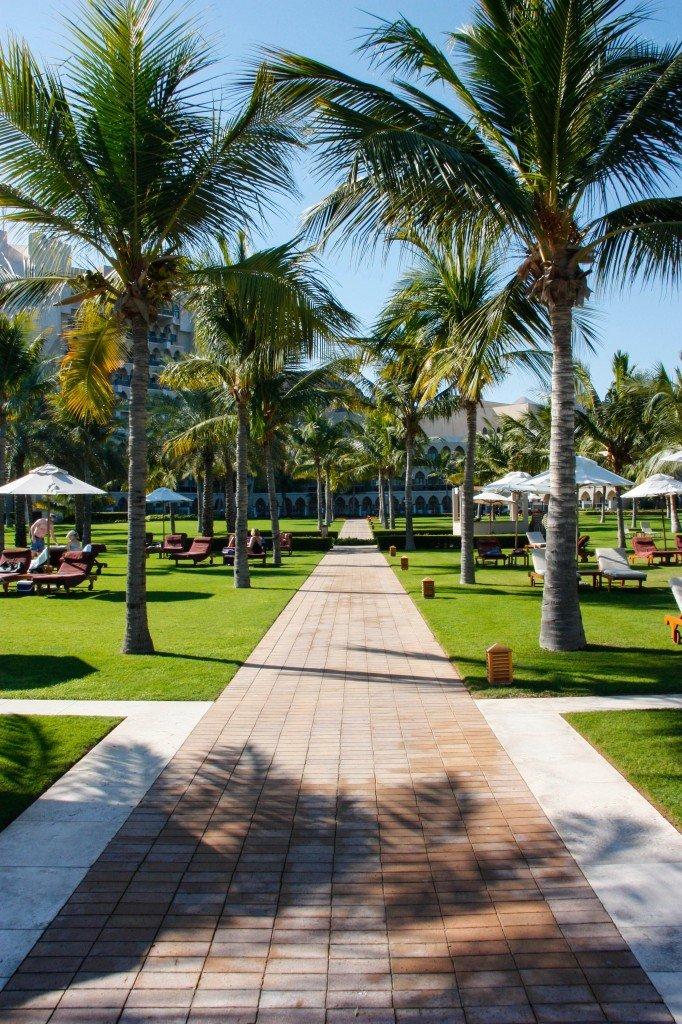 Al Bustan Hotel ~ Garden