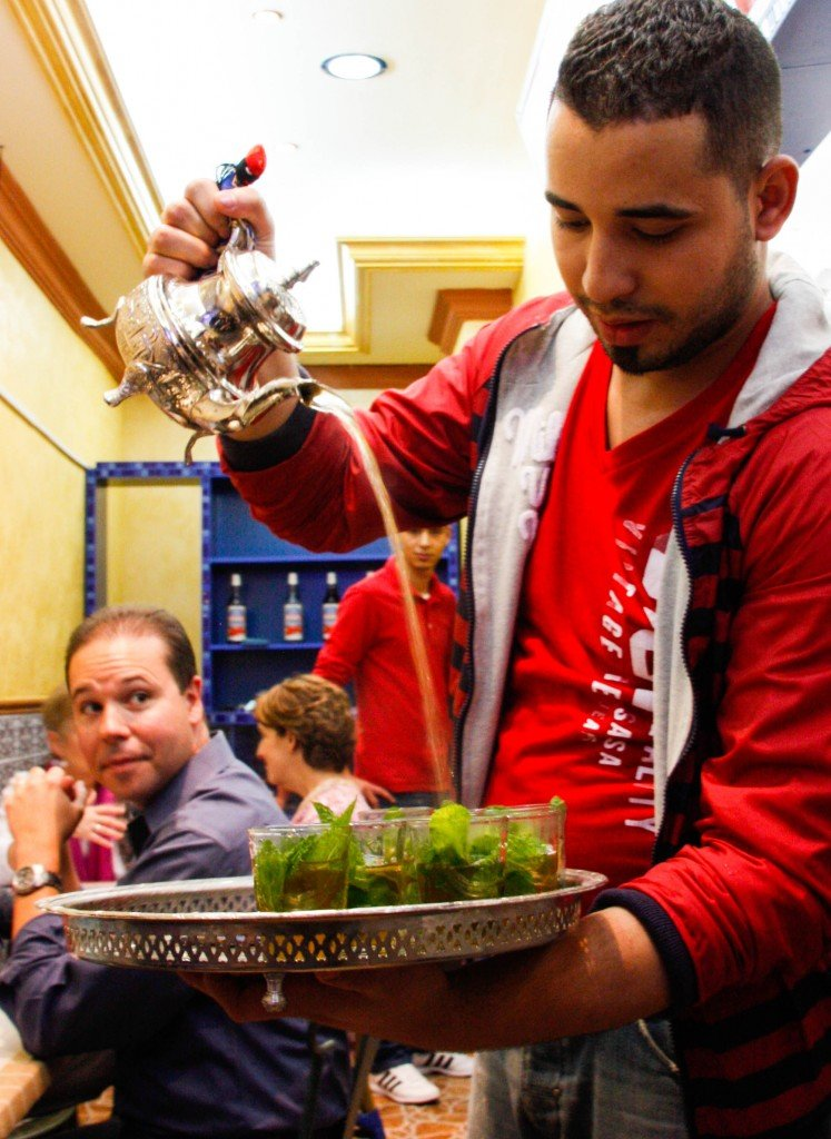 Frying Pan Adventures ~  Moroccan Mint Tea