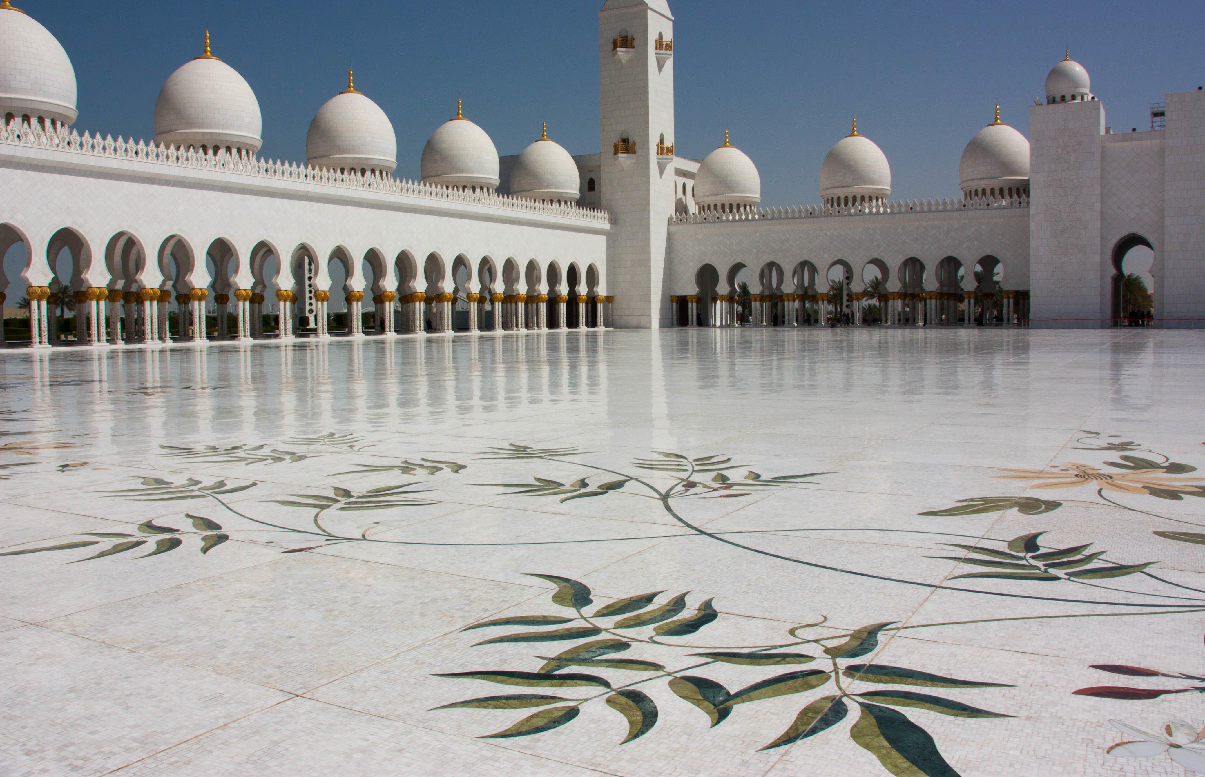 Sheikh Zayed Mosque  Abu Dhabi. Arabic Zeal   United Arab Emirates