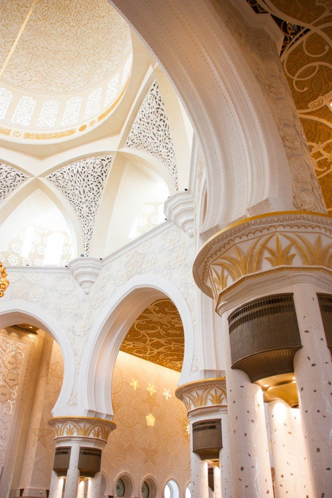 Foyer Decor Abu Dhabi : Arabic zeal sheikh zayed mosque floral exquisite