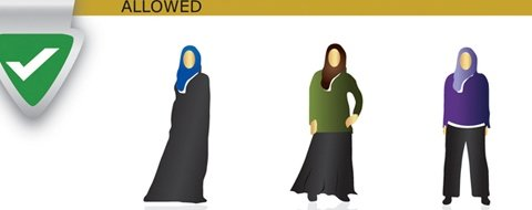 Sheikh Zayed Mosque - What to wear