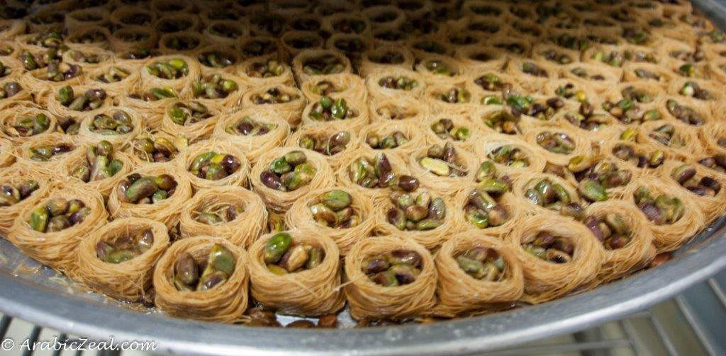 Al Samadi Sweets Konafe birdnests_