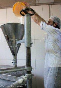 Al Samadi Sweets Konafe dough funnel_