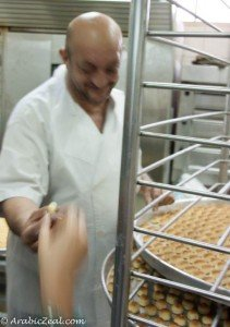 Al Samadi Sweets  Ma'amoul samples_