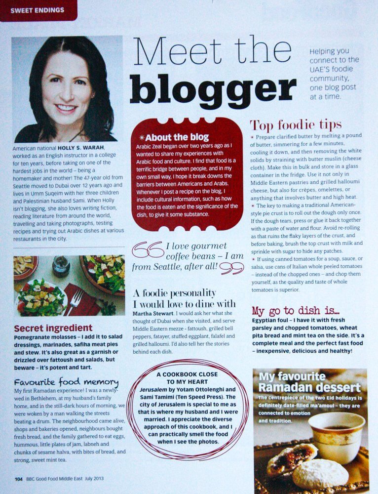 BBC Good Food ~ Meet the Blogger