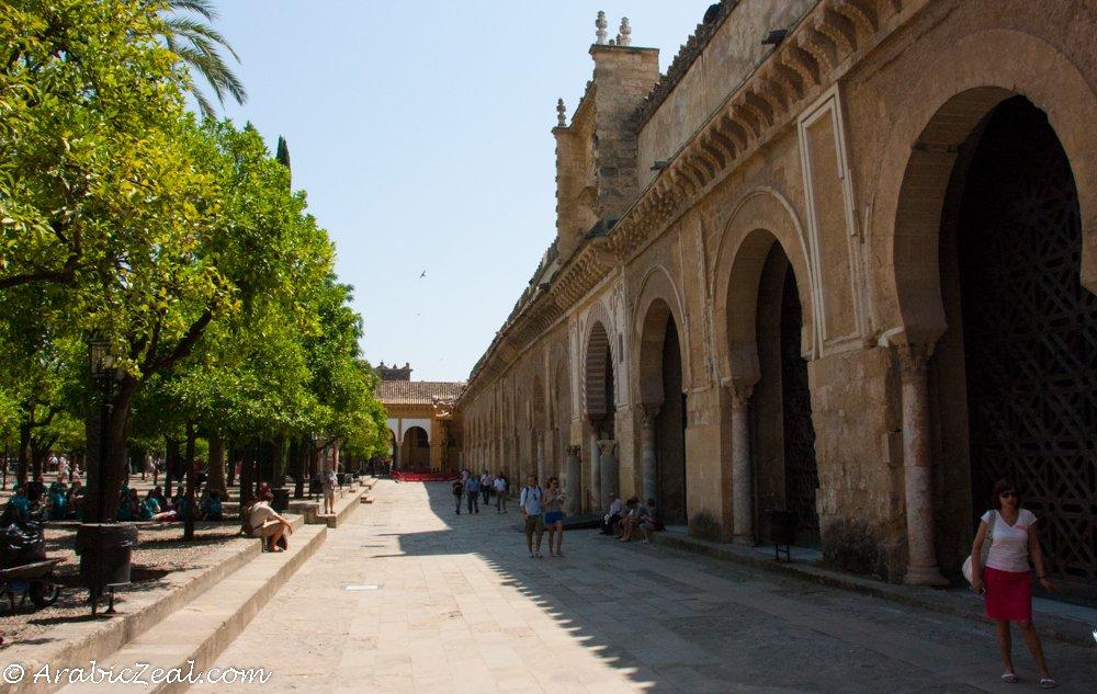 Cordoba Mosuqe, Courtyard