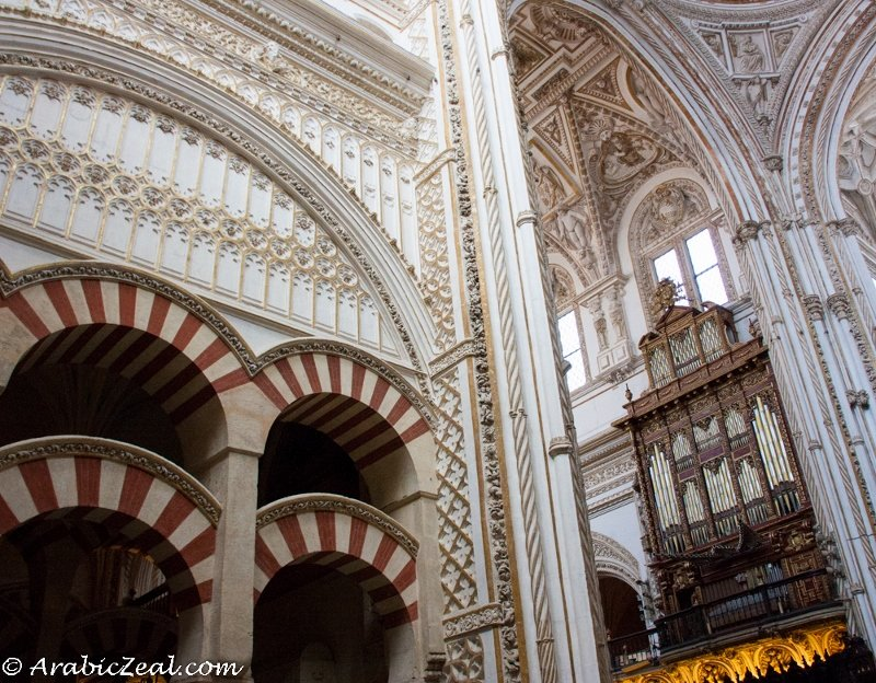 The Cathedral of Cordoba, Spain