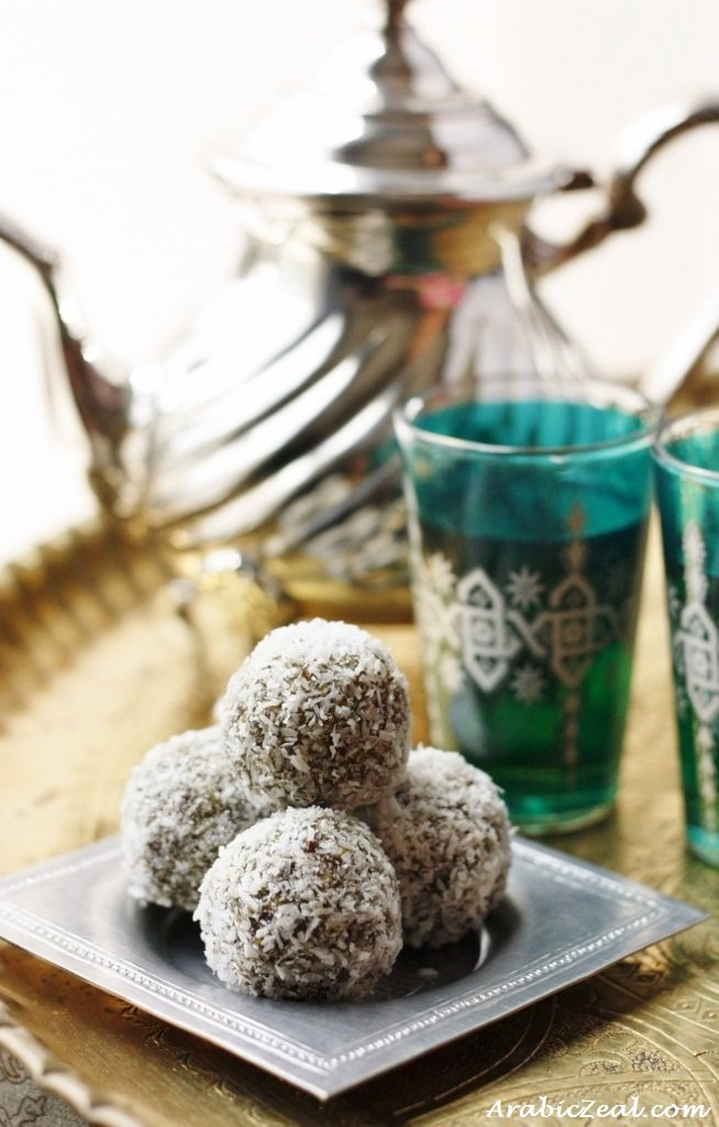 Arabic zeal eid recipes date truffles forumfinder Choice Image