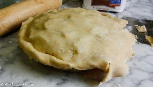 Apple Pie ~ tuck pastry evenly around edge
