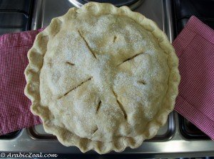 Applie Pie ~ Bake last 15 minutes  uncovered