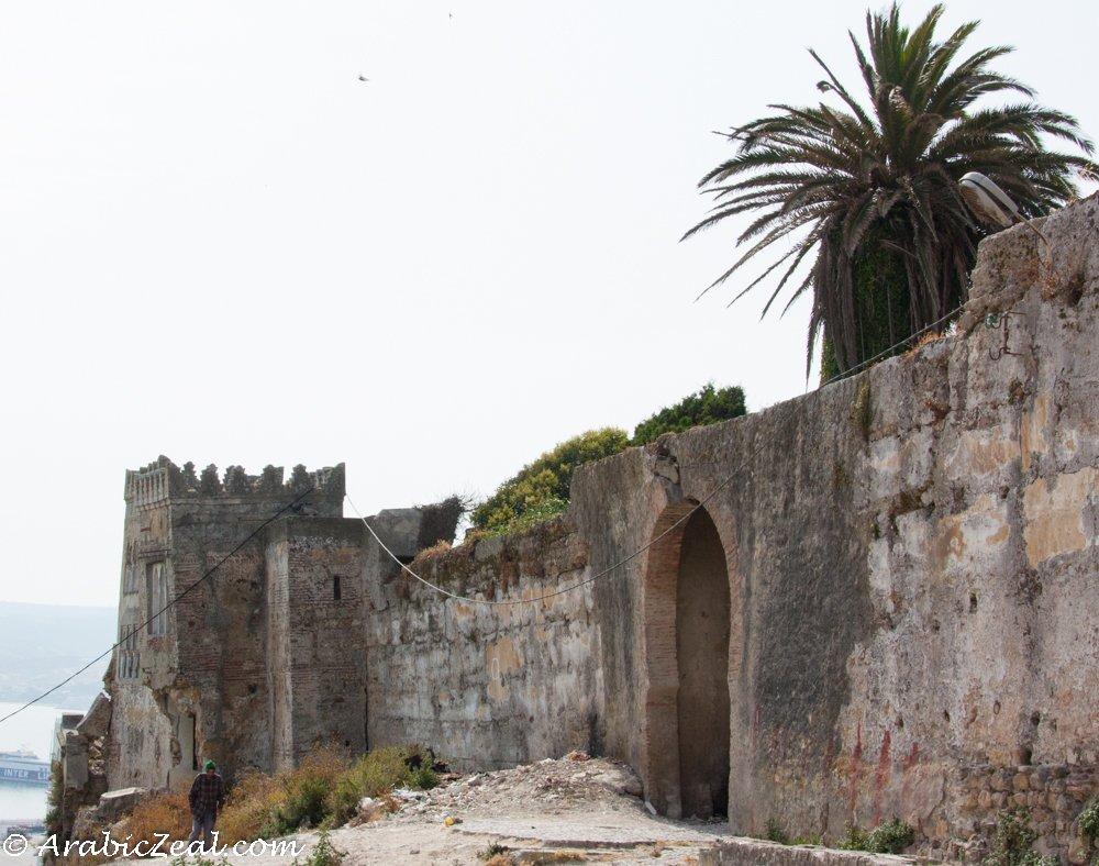 Tangier, Morocco ~ kasbah wall