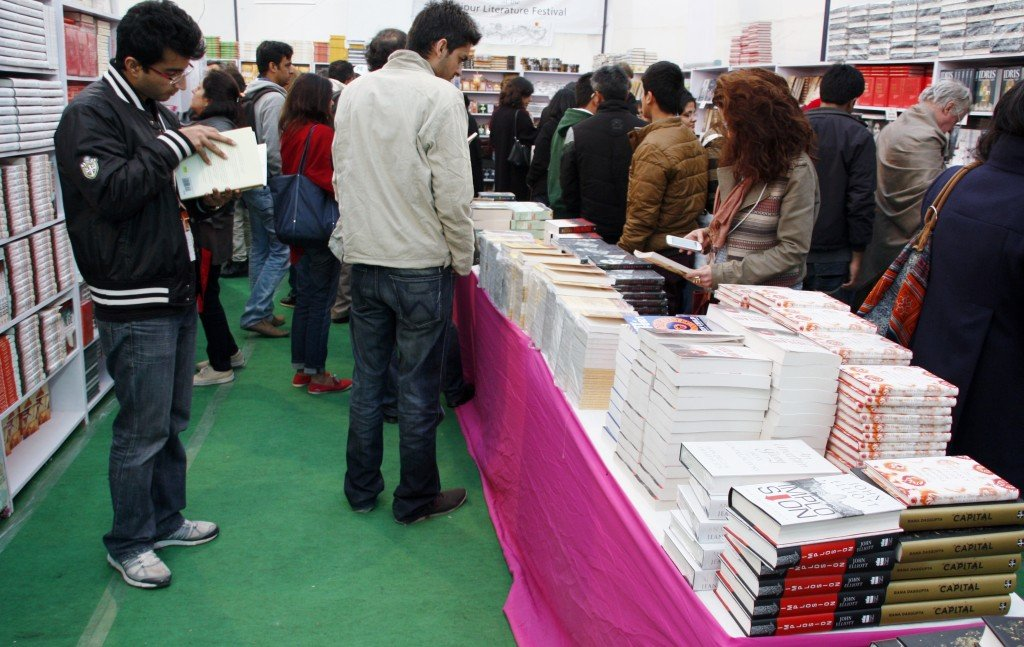 Jaipur Literature Festival ~ Book shop
