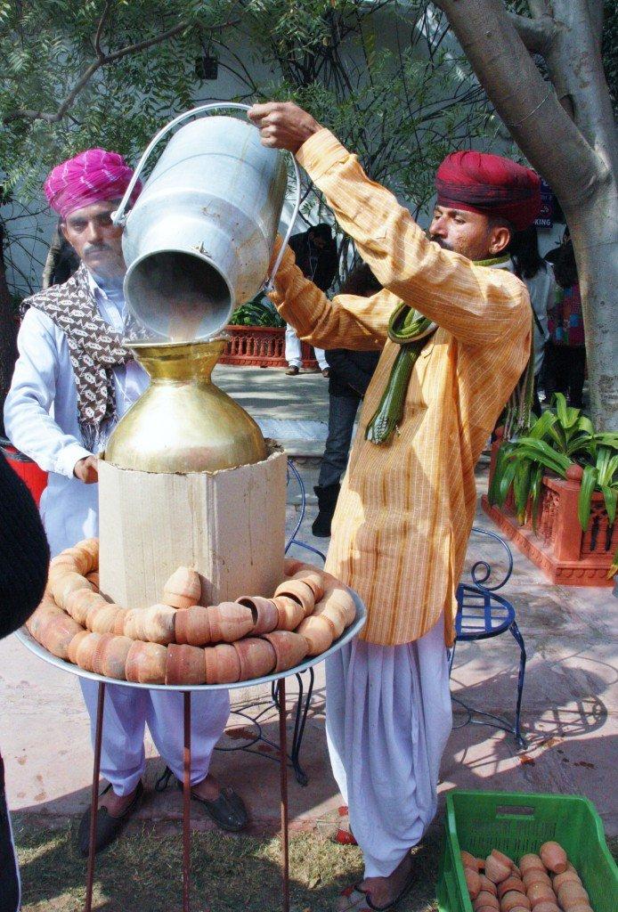Jaipur Literature Festival  ~  Chai Tea Sellers