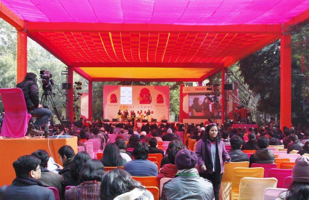 Jaipur Literature Festival ~ Front Lawn