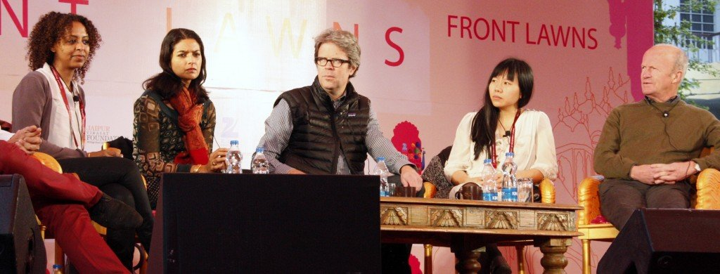 Jaipur Literature Festival  ~ Global Novel Panel