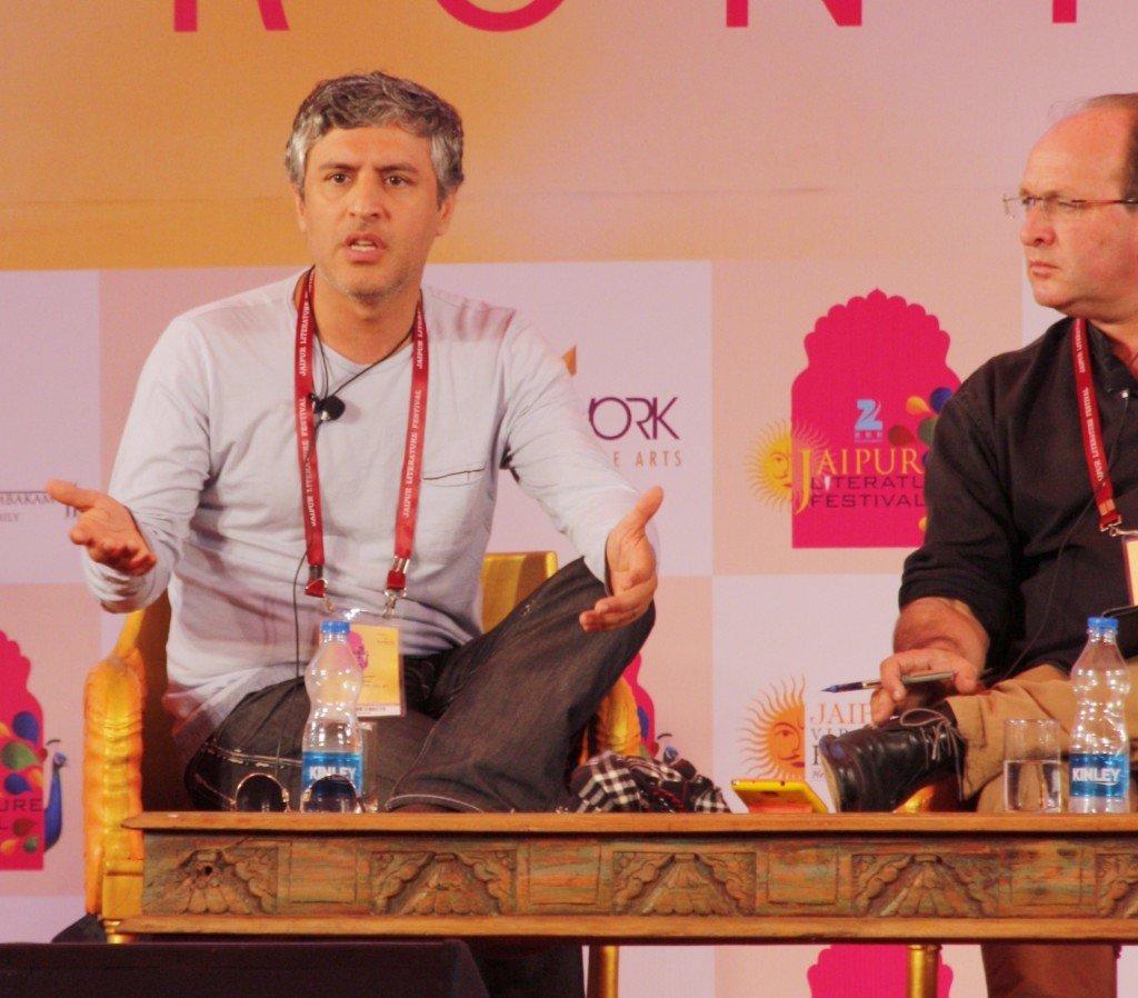 Jaipur Literature Festival  ~ Reza Aslan author & religious scholar