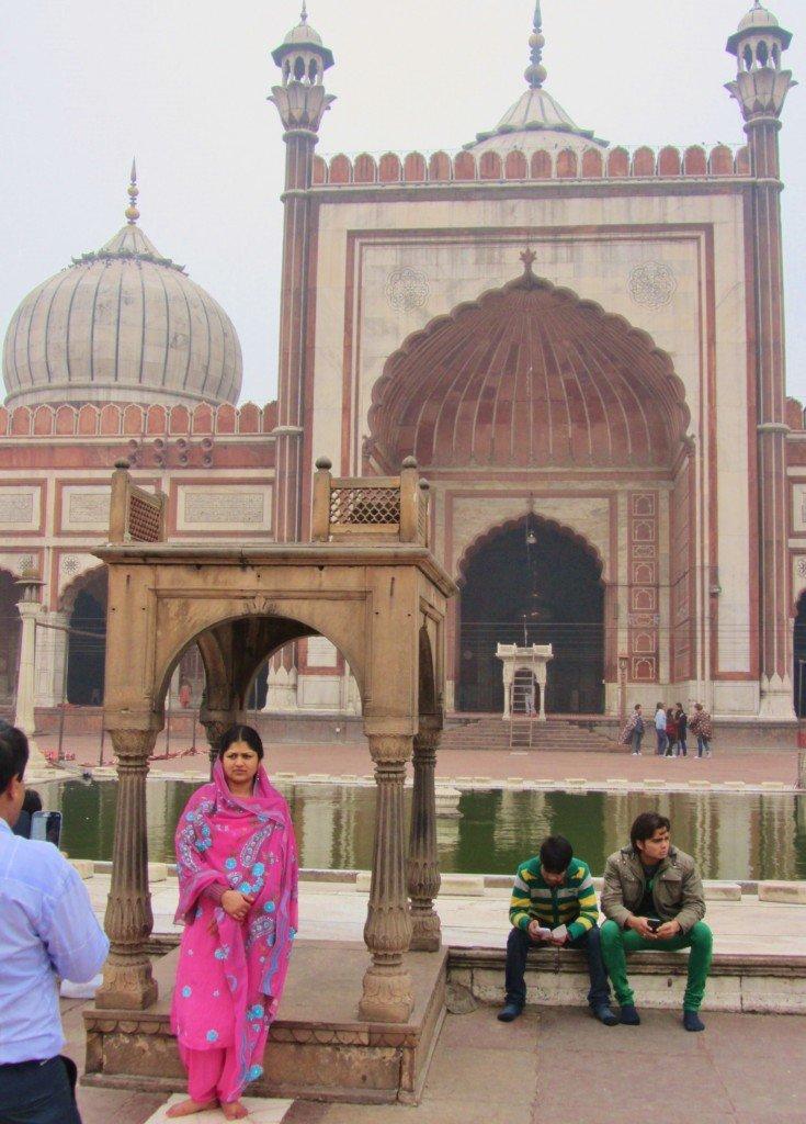Delhi ~ Jama Masjid