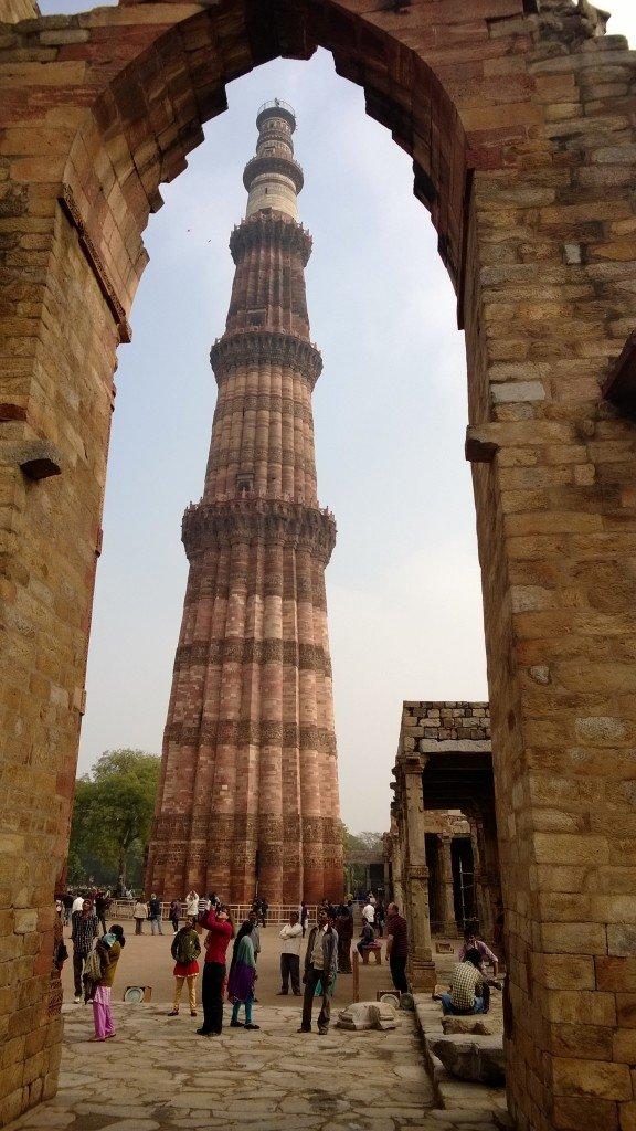 Delhi ~ Qutub Manar Archway