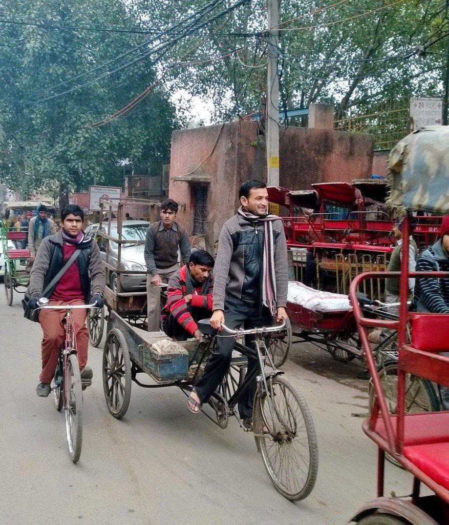 Delhi ~ Street rickshaws