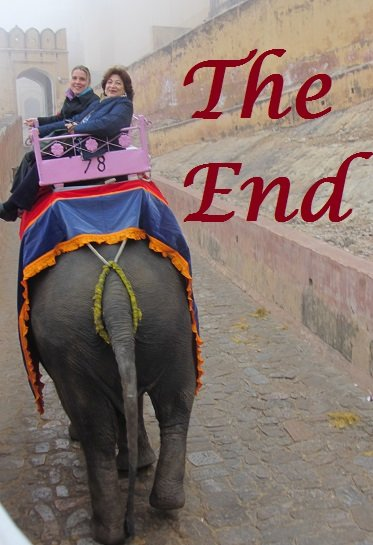 Jaipur Amber Fort ~ The End