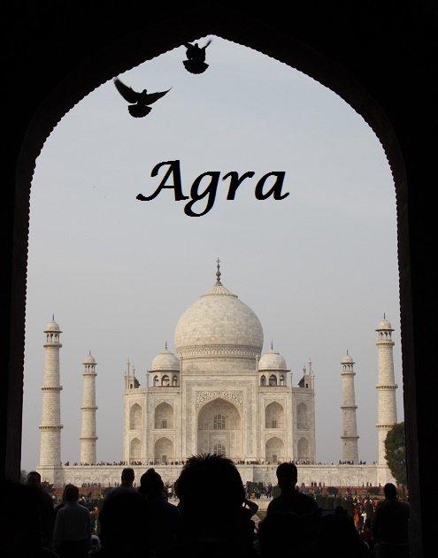 Agra Taj Mahal Archway