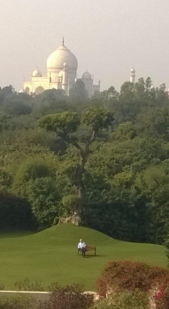 Agra ~ Oberoi Hotel, Room with a View