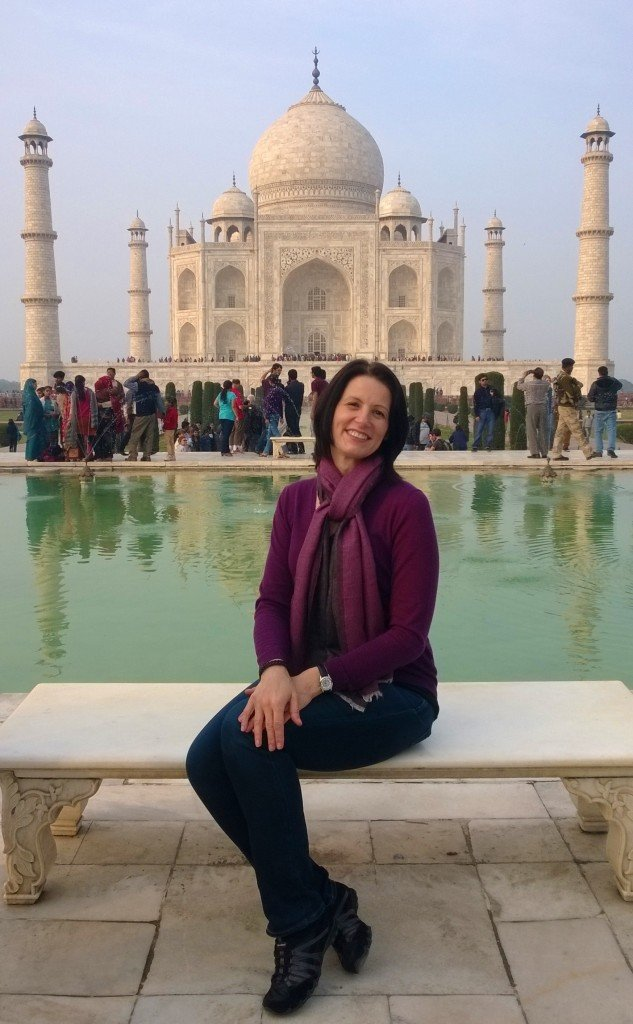 Agra Taj Mahal ~ Diana's Seat