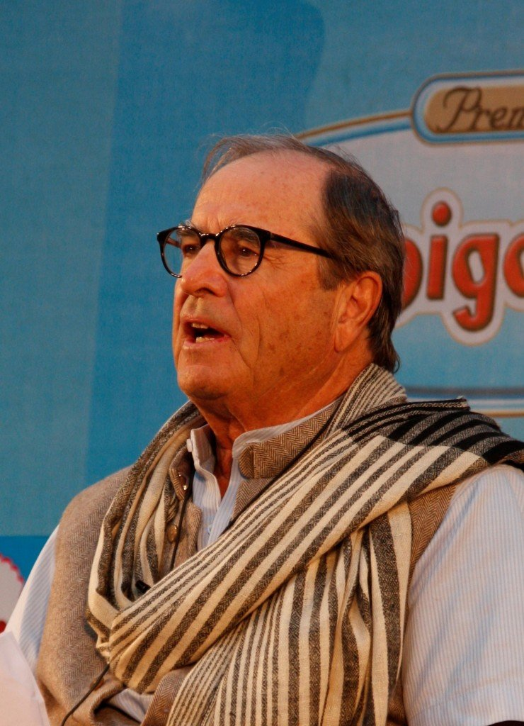Jaipur Literature  Festival - Paul Theroux