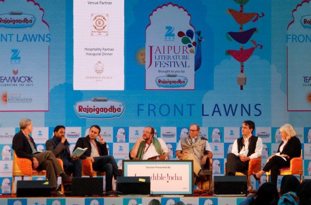 Jaipur Literature  Festival - Wanderlust Panel