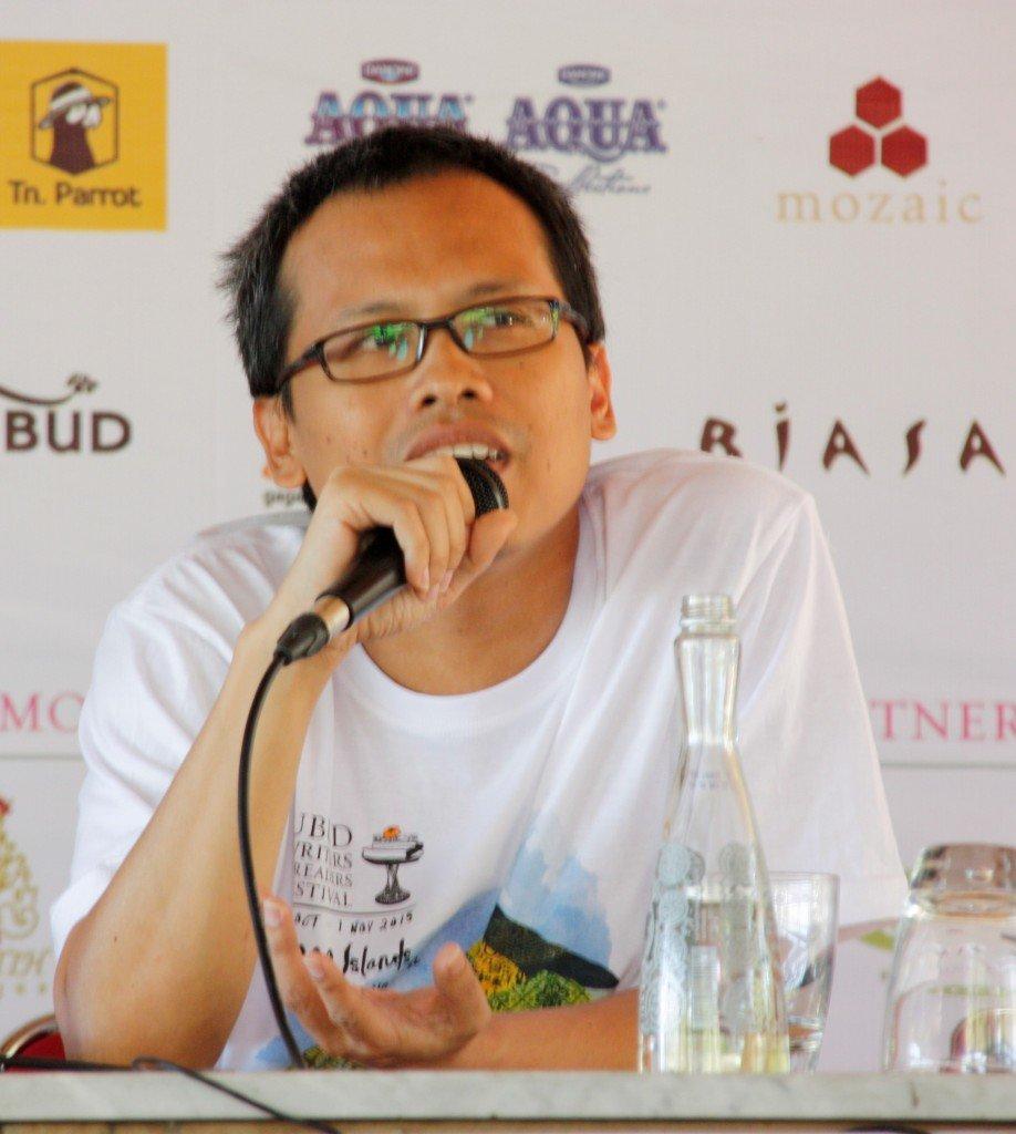 Ubud Writers Fest - Eka Kurniawan