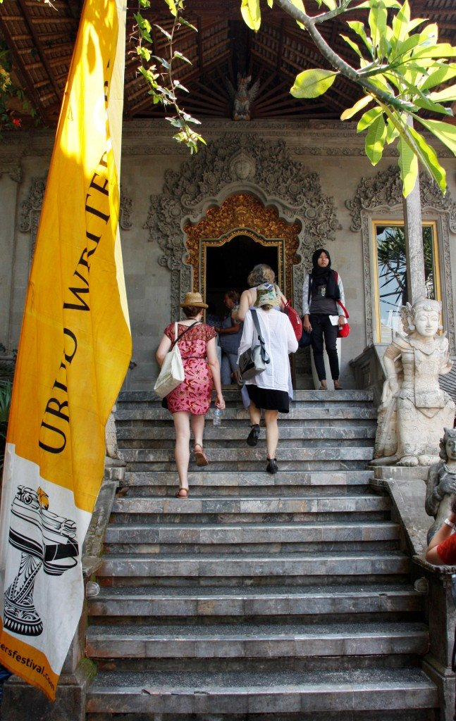 Ubud Writers Fest - Entrance