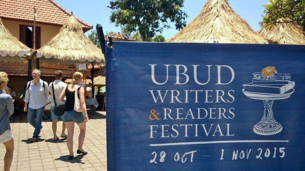 Ubud Writers Festival - Signage