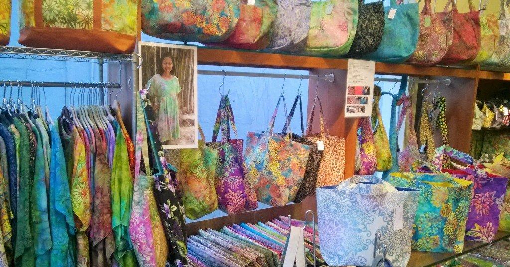 Ubud - Batik shop